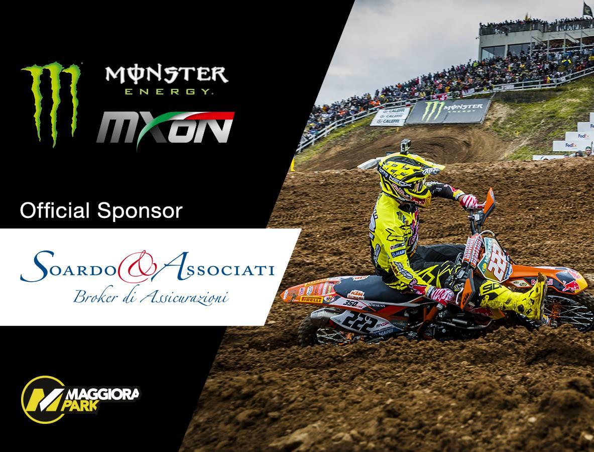 07/09/2016 – Soardo e Associati assicura ed è sponsor ufficiale del Motocross delle Nazioni a Maggiora il 24/25 settembre 2016
