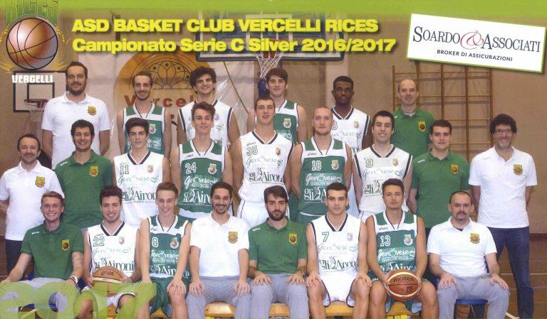 30/11/2016 – Soardo e Associati srl è sponsor ufficiale della ASD Basket Club Rices Vercelli