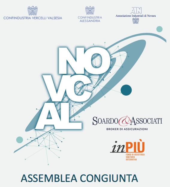 20/11/2017 – Soardo e Associati Main Sponsor dell'Assemblea congiunta di Confindustria Piemonte Orientale